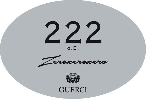 222 a.c. Zerozerozero Pinot Nero Spumante Metodo Classico Oltrepò Pavese D.O.C.G.